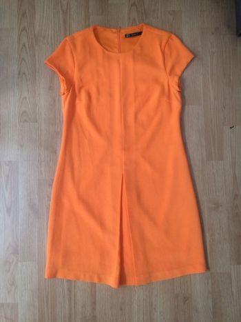 Vestido Zara naranja