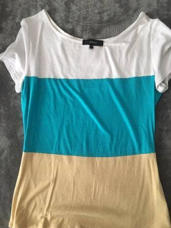 Blusa tricolor Julio