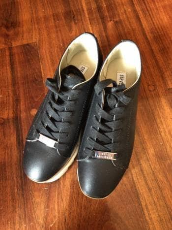 Zapatos plataforma negros Steve Madden