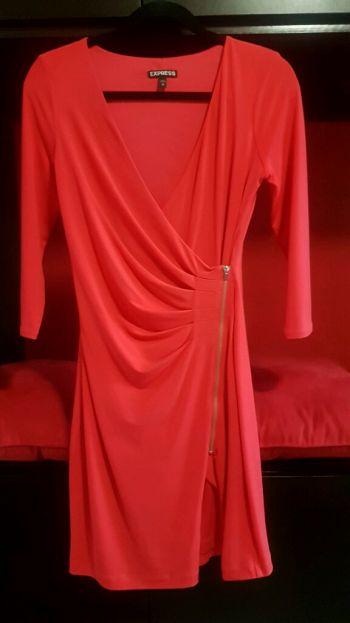 Vestido express rojo