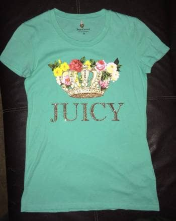 Playera Juicy nueva