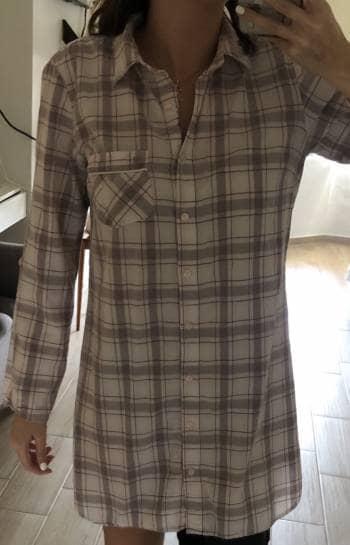 Pijama de cuadros larga