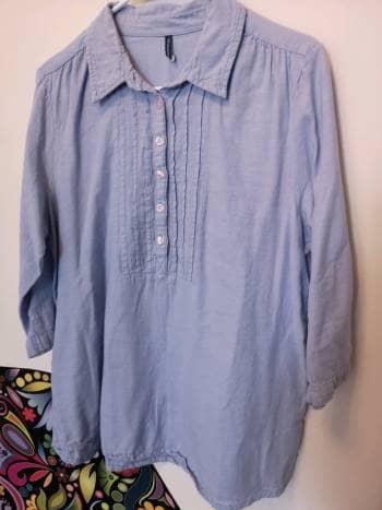 2x1 Camisa Azul Claro