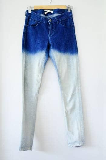 Jeans con degradado