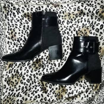 Botas negras de Zara