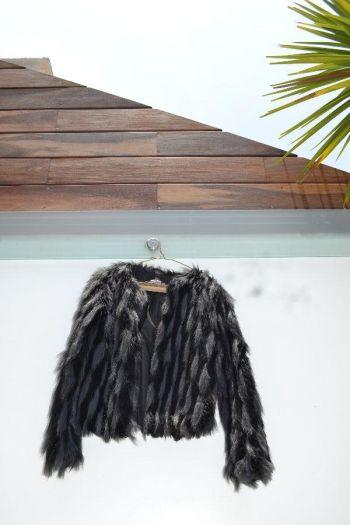 Abrigo de Fur muy Cool