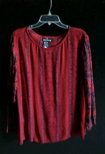 1264f5eb32 Blusa Roja Estampada - GoTrendier - 766661