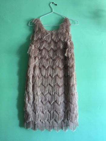 Vestido flapper