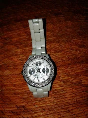 Reloj MK blanco