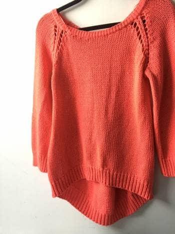 Suéter rosa neón  zara