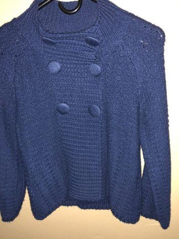 Suéter de botones.