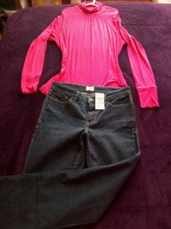 Jeans Dockers y blusita de regalo!!!!