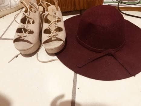 Sombrero rojo o