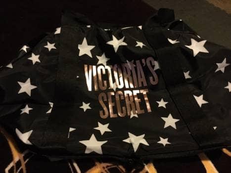 Victorias secret maleta de viaje estrellas