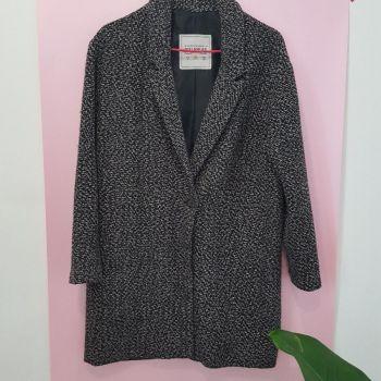 Abrigo Tweed Gris