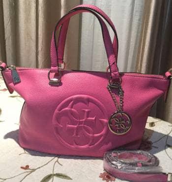 Bolsa Guess rosa