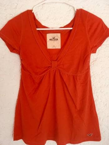 Blusa naranja Hollister - GoTrendier - 1002292 13617fa1a5638