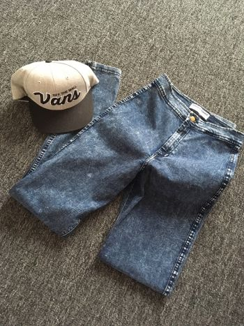 Acid wash high waisted jeans *regalo envio*