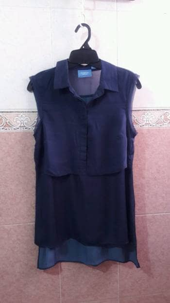 Blusón azul  2×1
