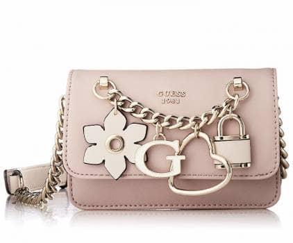 Bolsa guess color rosa *NUEVA* hadley mini