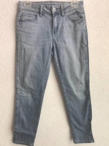 Jeans  claros con franja a lado