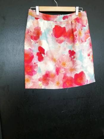 Falda multicolor beneton