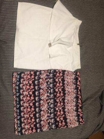 Paquete de 2 de faldas