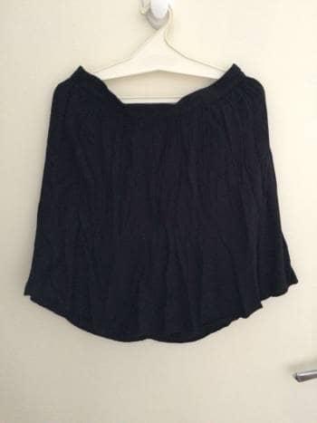 Falda negra lisa - GoTrendier - 807014 1befa3e854fc