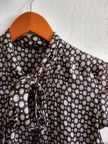 Blusa seda con estampado