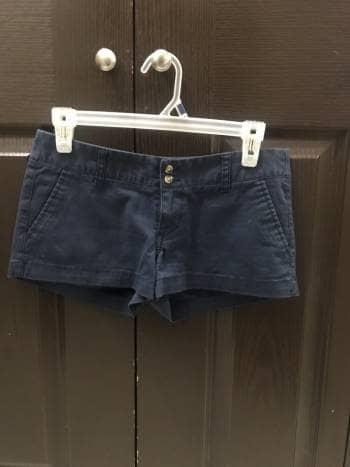 Shorts azul marino