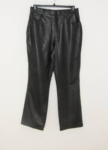 Apartado Pantalon Cintura Alta Vinipiel Talla 14