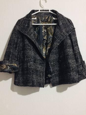 Abrigo corto tweed