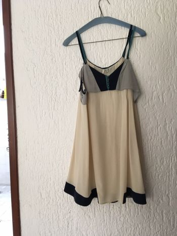 Vestido finisimo de seda