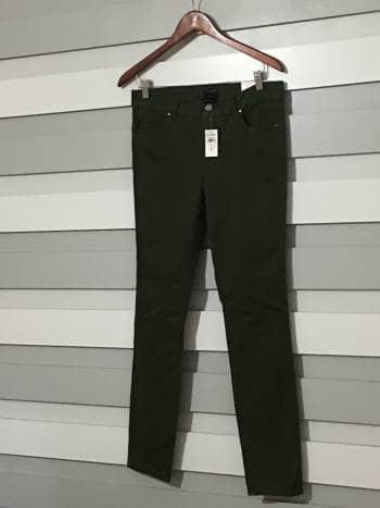 Ann taylor pantalon verde NUEVO