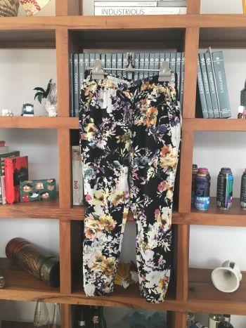 Nuevo Pantalon cómodo de flores