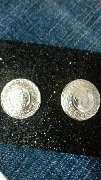Aretes plata
