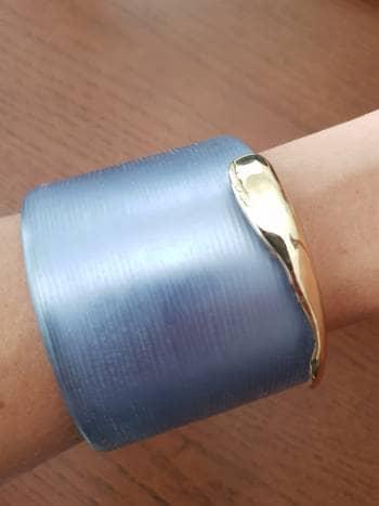 Brazalete azul bisuteria
