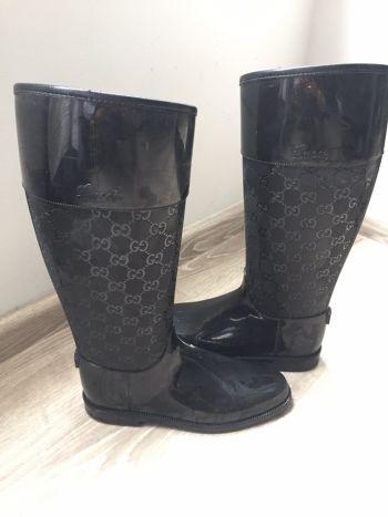 Rain boots gucci