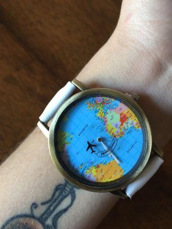 Reloj Mundo! ✈️