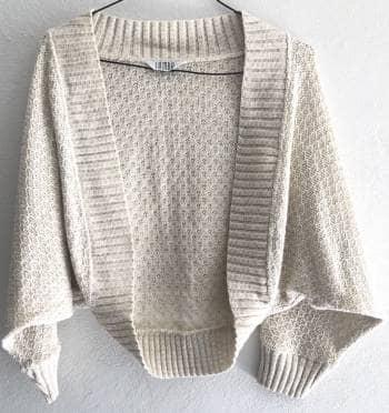2️⃣❌1️⃣ Suéter corto Beige