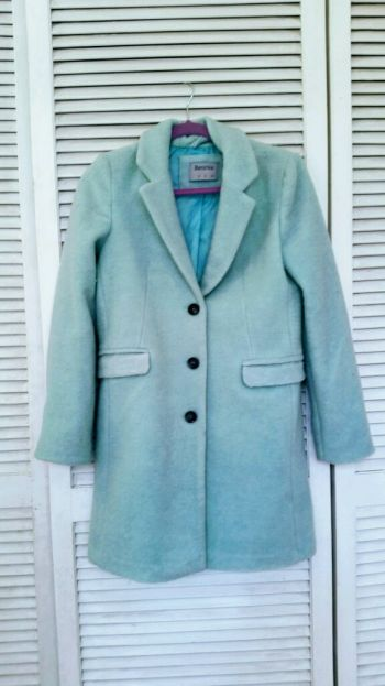 Abrigo azul clarito