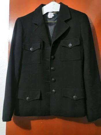 Blazer negro Zara