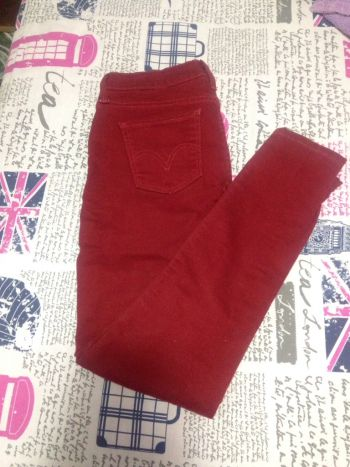 Pantalon color ladrillo