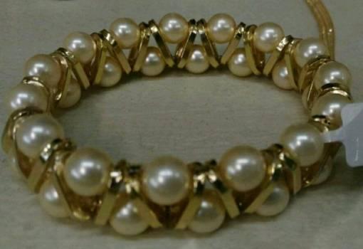 Pulsera de cadena y perla