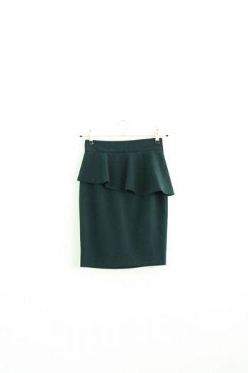 Falda tubo verde