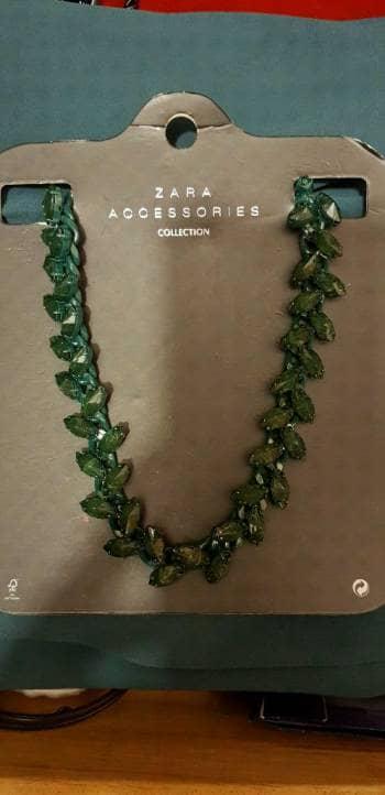 Collar Verde de piedras