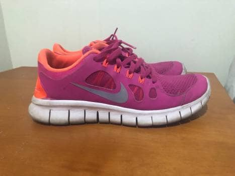 42436d0ff5809 Tenis Nike rosa con naranja - GoTrendier - 751838