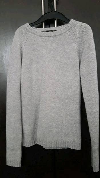 Suéter gris zara