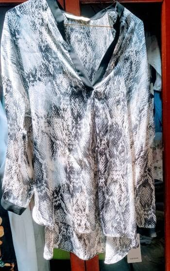 Camisa animal print ZARA