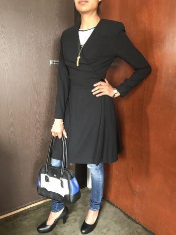 Abrigo corte vestido